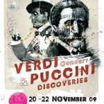 Verdi & Puccini ~ Discoveries Concert ~ Poster Art